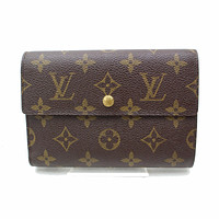 Authentic Louis Vuitton Wallet Browns Monogram 151217
