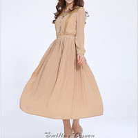 white dress pink dress black dress spring dress autumn dress women clothing long sleeve dress lace dress beach dress chiffon dress
