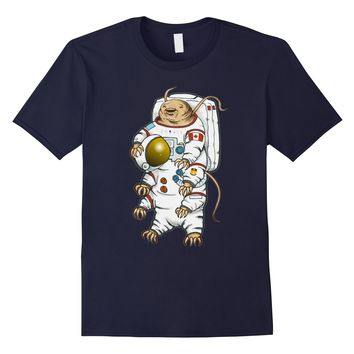 Funny Biology T Shirt-Tardigrade Astronaut Gifts Women Men
