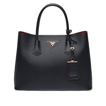 Pepper-Prada Double Bag (Black)
