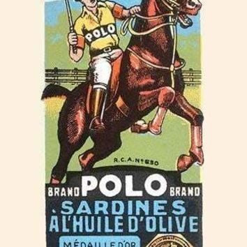 Polo Brand Sardines in Olive Oil (Canvas Art)