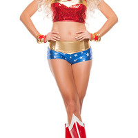 Powerful Woman Superhero Costume
