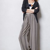 Arrowhead Palazzo Pants by Lilka Black Motif Xs Apparel