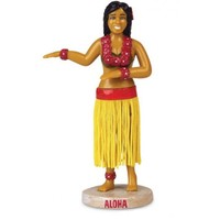 Accoutrements Hula Girl Dashboard Figurine