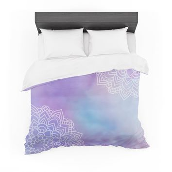 "Sylvia Cook ""Something Purple"" Purple Blue Digital Featherweight Duvet Cover"