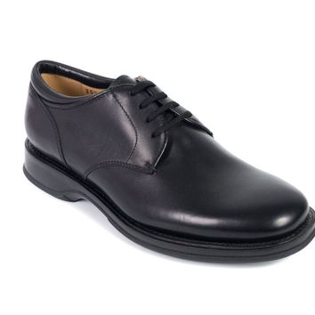 Church's Women's Black Leather Lace-Up Charmain Shoes