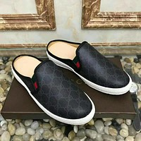 Boys & Men Gucci Fashion Casual Flats Shoes