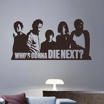 kik2965 Wall Decal Sticker series walking dead living room bedroom
