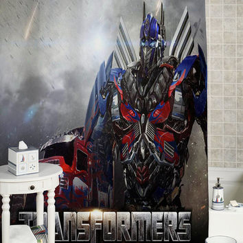 Transformers Age of Extinction Latest custom showercurtain