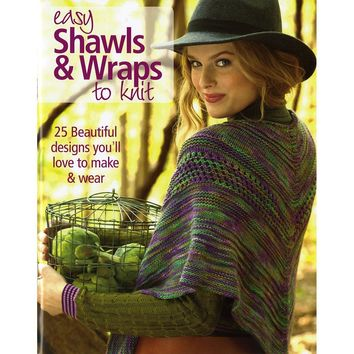 Soho Publishing-Easy Shawls & Wraps To Knit