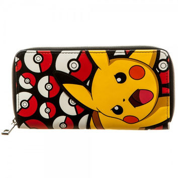 Pokemon Pikachu Zip Around Wallet 2