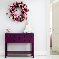 Rama & Sita Plum Console Table