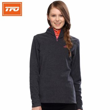 TFO hiking jacket fleece women softshell thermal warming winter outdoor climbing men women mountain travel coat