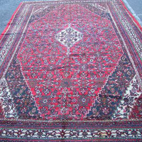 1960s Bibikabad Persian Rug for Design Projects