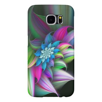 Cool Colorful Beautiful Floral Samsung Galaxy S6 Samsung Galaxy S6 Cases