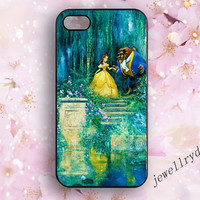 Beauty and the Beast iPhone 5/5s case,Disney princess art iPhone 4/4S,Beauty and the Beast iphone 5/5s,samsung galaxy s5 case,beautiful gift
