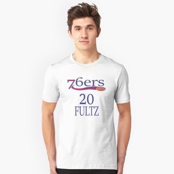 '76ers 20 Fultz' T-Shirt by JevLavigne