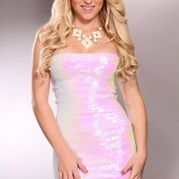 White Sequin Detailing Throughout Sexy Glamorous Dress @ Amiclubwear sexy dresses,sexy dress,prom dress,summer dress,spring dress,prom gowns,teens dresses,sexy party wear,women's cocktail dresses,ball dresses,sun dresses,trendy dresses,sweater dresses,tee