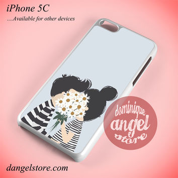 Very Cute Couple Phone case for iPhone 5C and another iPhone devices