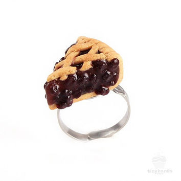 Scented Blueberry Pie Ring