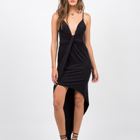 Asymmetrical Knot It Dress