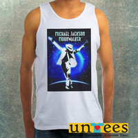 Michael Jackson Moon Wallker Clothing Tank Top For Mens