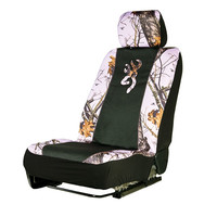 Browning Buckmark Mossy Oak Pink Camo Low Back Seat Cover