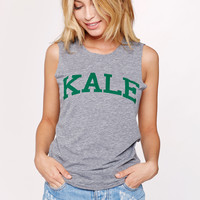 Sub_Urban Riot || Kale Muscle Tee in heather grey