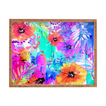 Holly Sharpe Hawaiian Heat Rectangular Tray