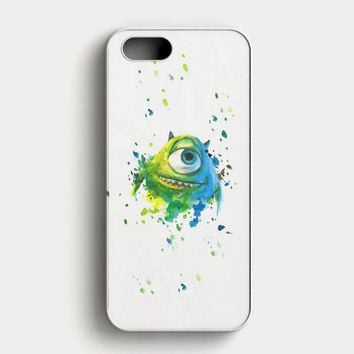 Monster Inc Mike Paint Brush iPhone SE Case