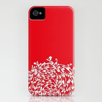 Red Birds iPhone Case by Judy Kaufmann | Society6