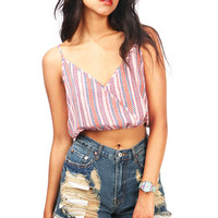 Arrow Streak Crop Top