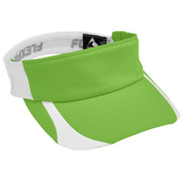 Augusta 6308 Flexfit Contender Visor - Youth - Lime White