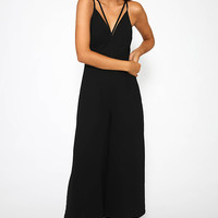 April Song Jumpsuit - Black