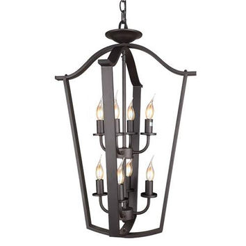 LNC 2 Tier Lantern Pendant Lighting