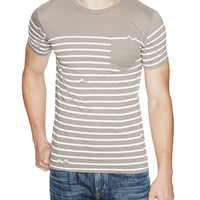 James Stripe Tee
