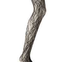FOREVER 21 Lace-Patterned Tights