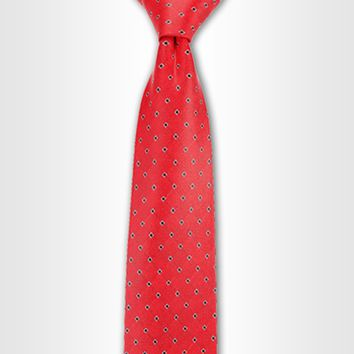 Phoenix Red Dotted Tie