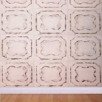 IVORY TILE WALL BACKDROP 5x6 - LCPC413 - LAST CALL