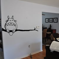 My Neighbor Totoro Wall Decal by VinylVanquish on Etsy