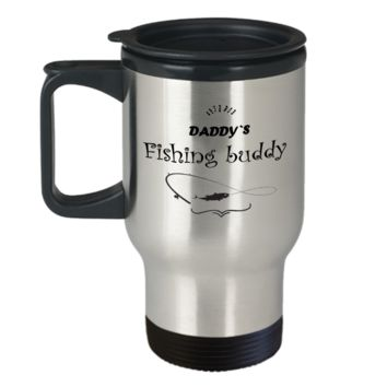 Daddy Fishing Buddy- Funny Fishing Mug