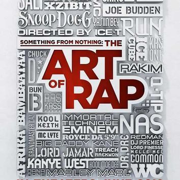 Something from Nothing: The Art of Rap 11x17 Movie Poster (2012)
