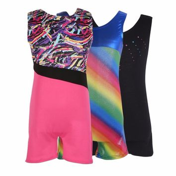 Kids Girls Ballet Leotards