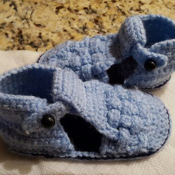 AG'S Crochet Baby Booties and Sandals