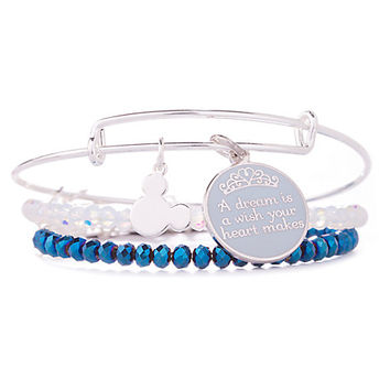 Cinderella ''A Dream is a Wish . . .'' Bangle Set by Alex and Ani | Disney Store