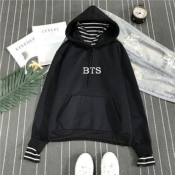 KPOP BTS Bangtan Boys Army Newest  Hoodie  Boys Hoodies Bt21 Sweatshirt  Fans Clothes V Jin Jimin Suga Rap Monster J Hope Shirt AT_89_10