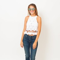 Show Me Your Mumu - Crochet Top