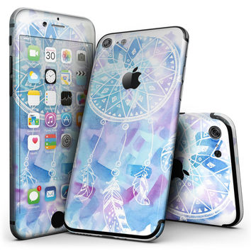 Watercolor Dreamcatcher - 4-Piece Skin Kit for the iPhone 7 or 7 Plus