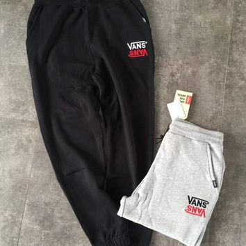 VANS Fashion Casual Trousers Pants Sweatpants