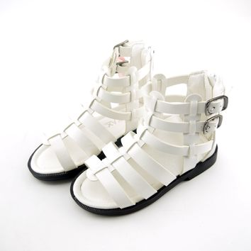 Girls Gladiator Rome Summer Sandals